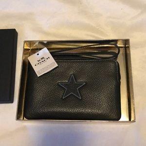 Coach Star Wristlet Wallet Clutch